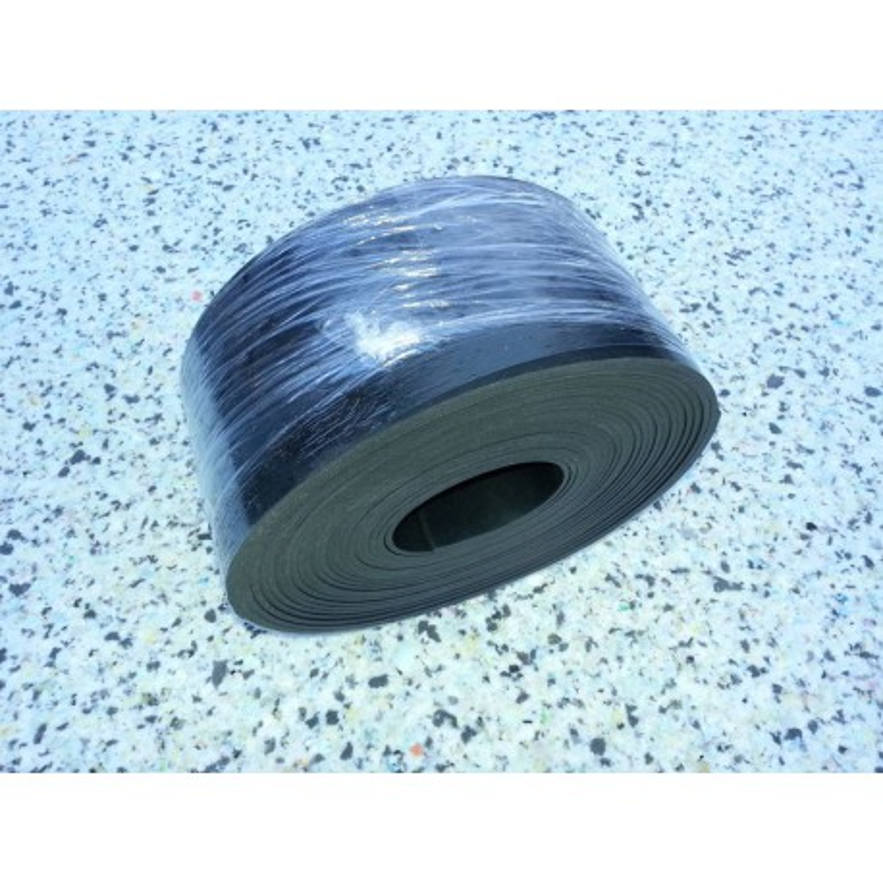 SBR rubber strip 120x6 mm 10 meter
