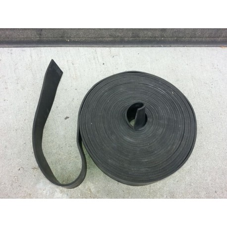 Rubber strip 30 x 3 mm