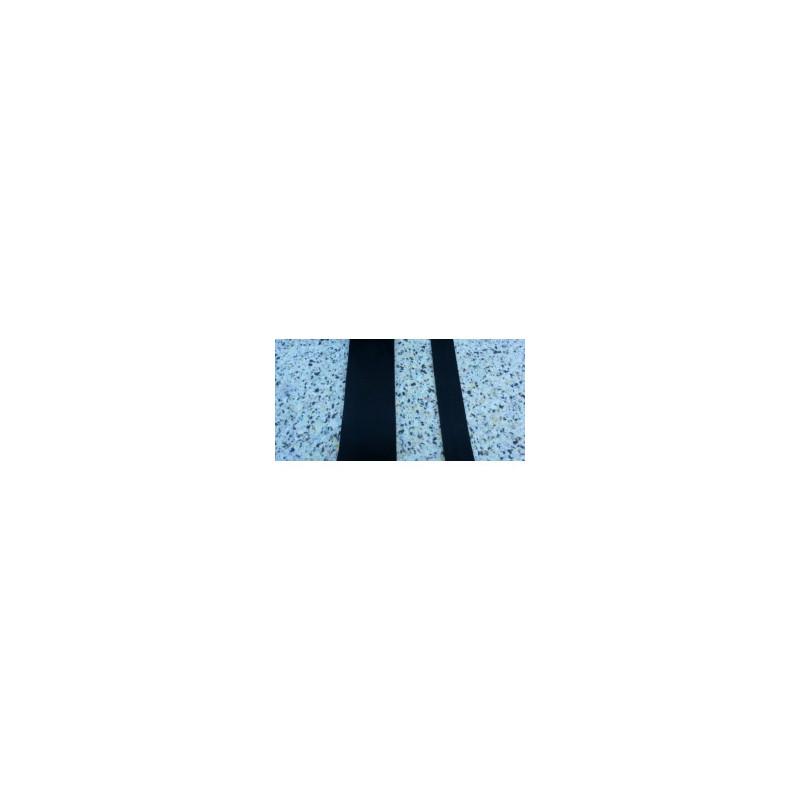 granulaat rubber strook 80 mm